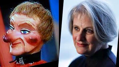 Lady Elaine Fairchilde (left), Denise Cote (right),or vice versa