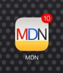 MacDailyNews 3.1 icon with badge count