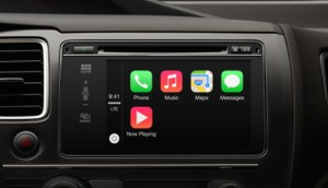 Apple CarKey. Pictured: Apple CarPlay