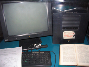 At the end of the 80s, Tim Berners-Lee invented the World Wide Web using this NeXTcube computer as the first Web server