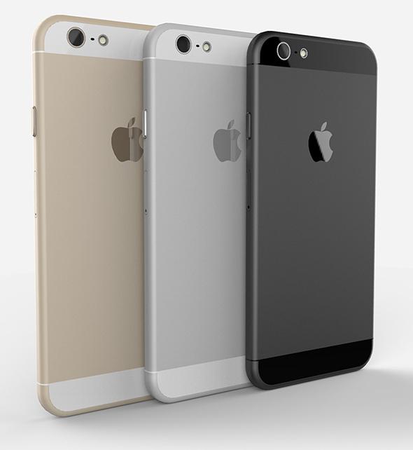 iPhone 6 concept art by Tomas Moyano and Nicolàs Aichino (via AppAdvice)