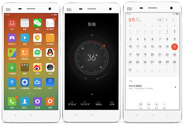 Xiaomi's MIUI 6 Android skin mimics Apple's iOS 7