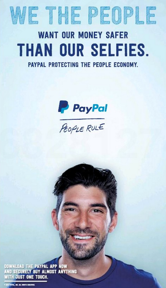 PayPal ad fearful of Apple Pay
