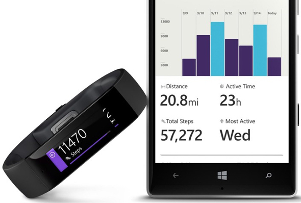 Microsoft Band and Microsoft Health
