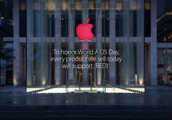 World AIDS Day: Every product Apple sells today will support (PRODUCT) RED