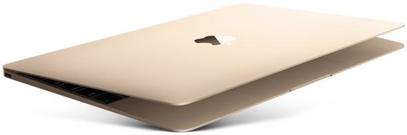 Leaker: New iPad Air with in-display Touch ID, ARM-based MacBook, Apple game controller, and more on the way. Image: Apple's MacBook with 12-inch Retina display