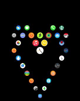 MacDailyNews Reader Iilles T.'s Apple Watch Home screen