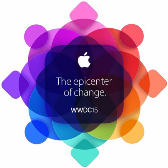 Apple's WWDC 2015 invitation graphic