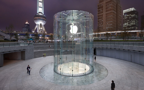 Apple Store Pudong in Shanghai