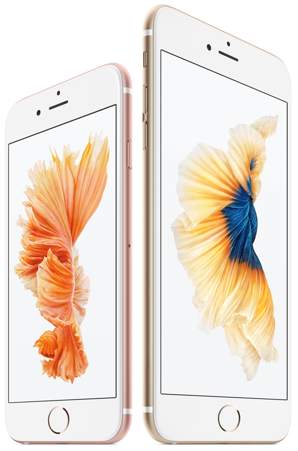 Apple's new iPhone 6s and iPhone 6s Plus