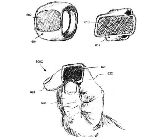 Illustration from Apple patent application (Source: USPTO)