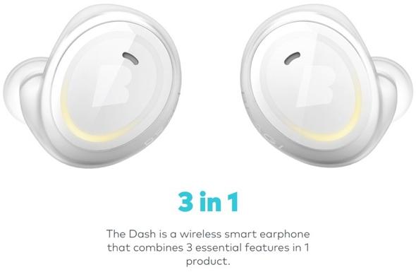 Bragi Dash Bluetooth earphones