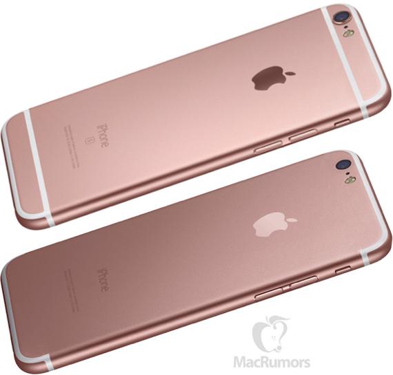 iPhone 6s rear casing (top) vs. iPhone 7 mockup based on rumors