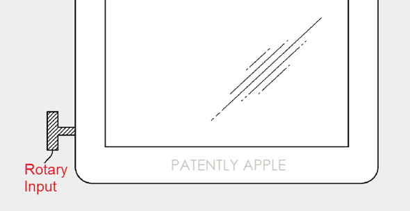 Apple Considers using a Digital Crown Mechanism for iPad and/or iPhone
