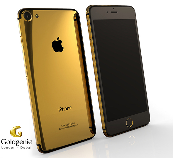Goldgenie 24k Gold Elite iPhone 7
