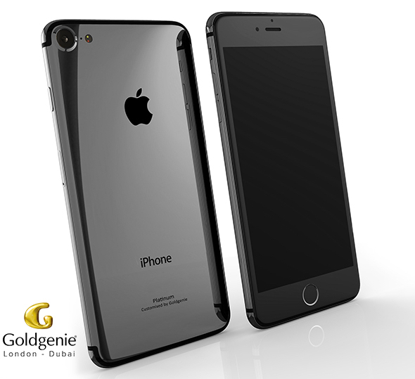 Goldgenie Platinum iPhone 7