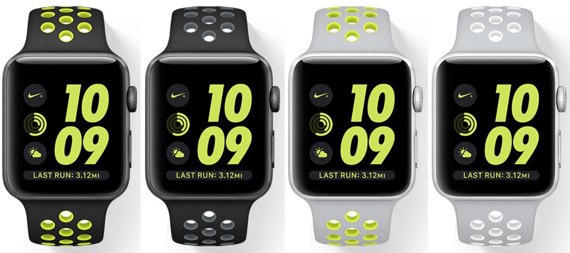 Apple Watch Nike+ with with built-in GPS and water resistance to 50 meters