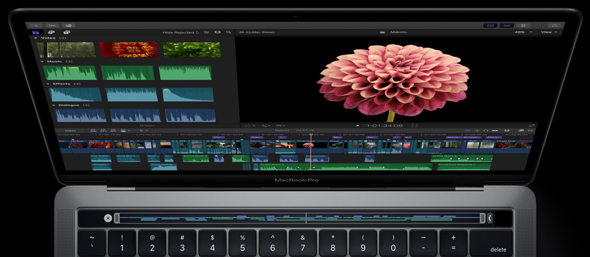 Apple's new MacBook Pro's Touch Bar
