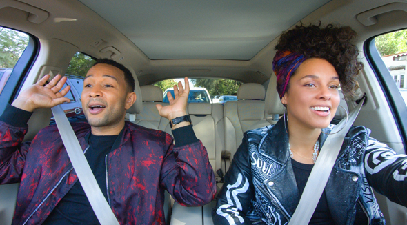 New episodes of Carpool Karaoke: The Series will be available on Apple Music every Tuesday starting August 8. John Legend and Alicia Keys are two of the celebrities who will take the wheel.