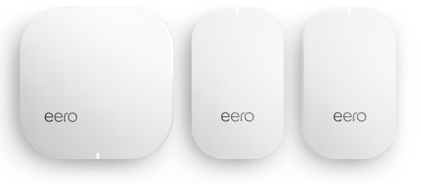 eero's 2nd generation  Home Wi-Fi System (1 eero + 2 eero Beacons)