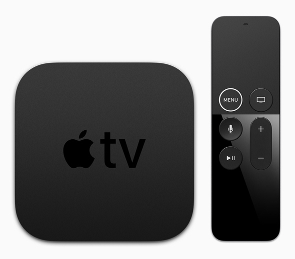 next-gen Apple TV. Image: The current Apple TV 4K and its Siri Remote