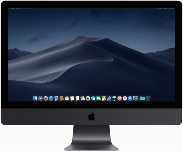 macOS Mojave provides new features inspired by professionals but designed for everyone, including Dark Mode, Stacks, new apps and a redesigned Mac App Store.