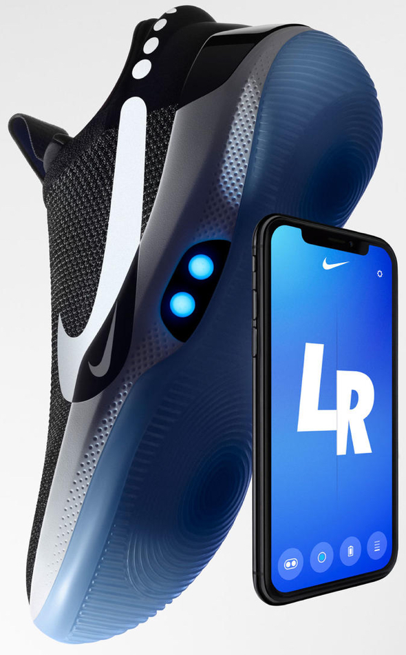 The Nike Adapt BB has a near-symbiotic relationship with its digital app thanks to opt-in firmware updates.