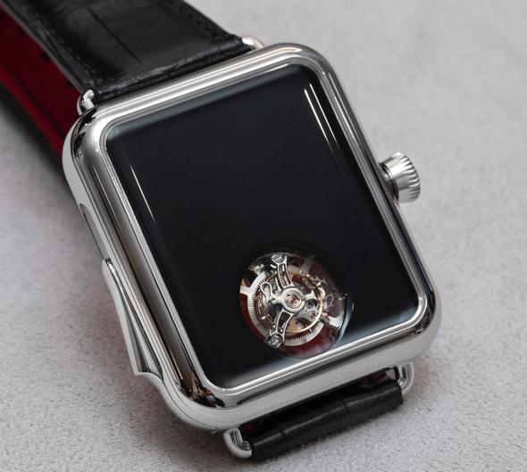 H. Moser's $350,000 Swiss Alp Watch Concept Black