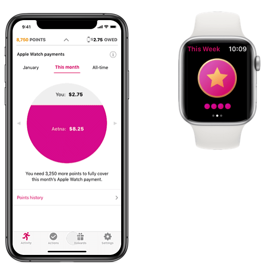 Aetna rewards Apple Watch wearers for healthy activity