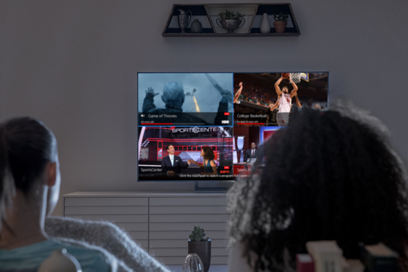 Just in time for March Madness, PlayStation Vue app delivers multi-view on Apple TV with up to four live channels on one screen