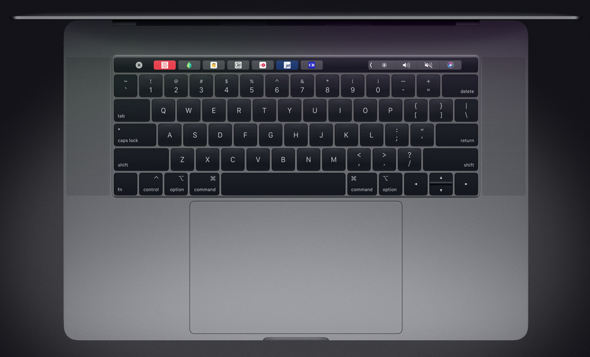 Apple refreshes MacBook Pro with updated butterfly keyboard (using Liquidmetal?)