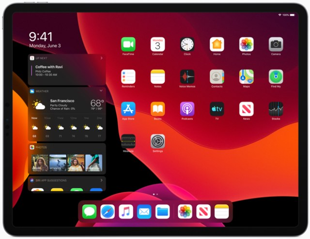 Dark Mode brings a dramatic look to iPad for an immersive visual experience.