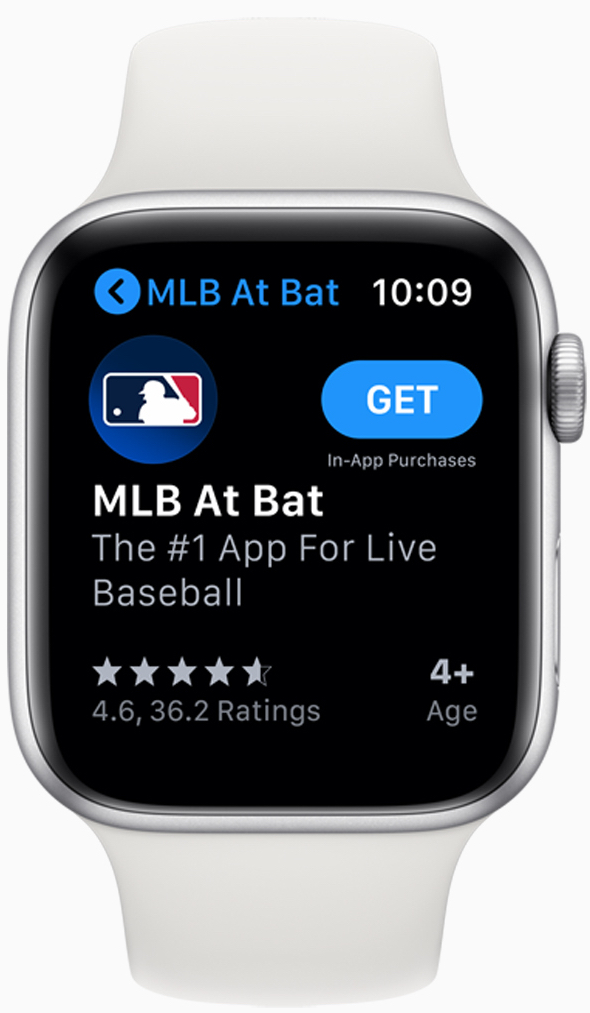 With watchSO 6, Apple's App Store will be available right on your wrist.