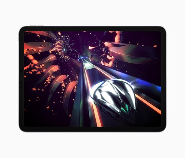 """Thumper: Pocket Edition"" by Drool delivers an immersive musical gaming experience with classic arcade action, blistering speed and intense physicality."