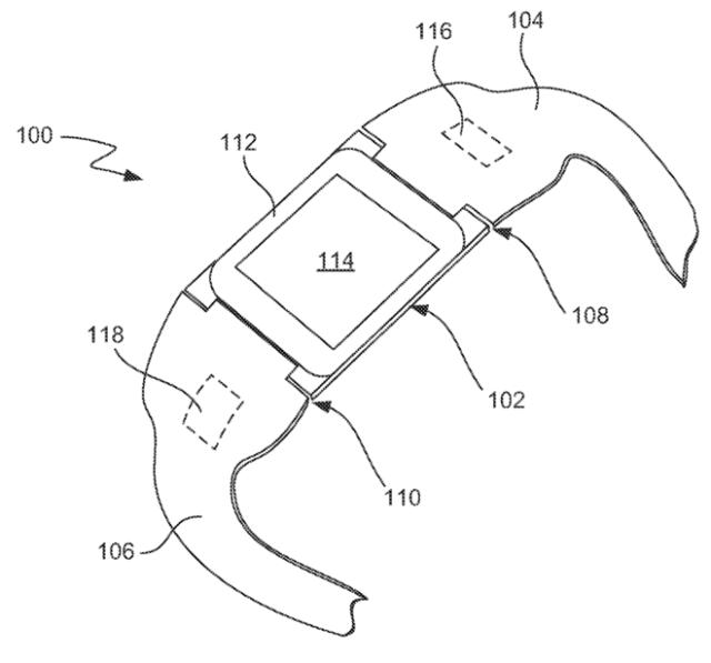 Ilustrace patentové přihlášky společnosti Apple (zdroj: USPTO)