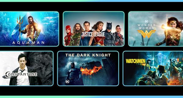 $9.99 DC superhero movies