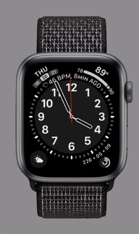 Apple's new California face will be available on Apple Watch Series 4 this fall with the release of the watchOS 6
