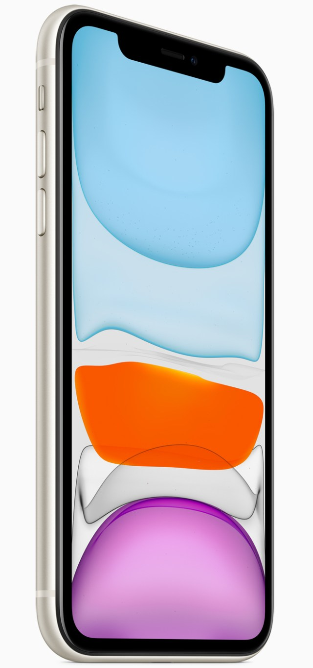 The iPhone 11's 6.1-inch Liquid Retina display's true-to-life all-screen design makes everything look amazing.