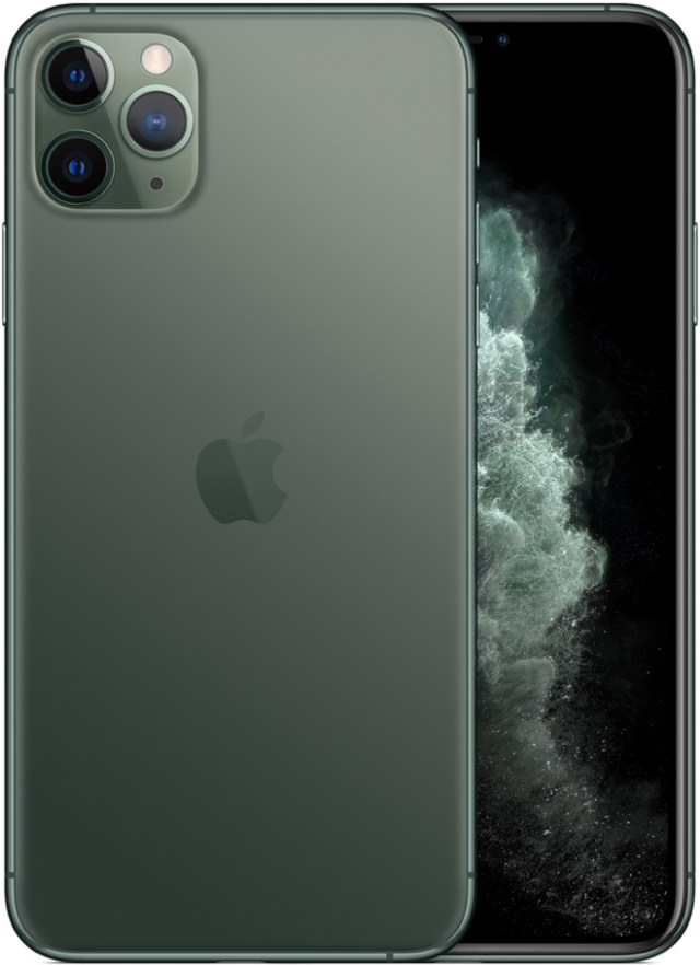 Apple's flagship iPhone 11 Pro Max 512GB Midnight Green