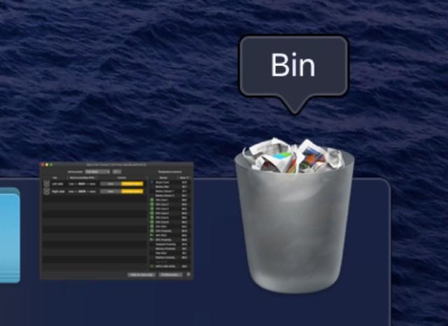 Mac Trash Bin