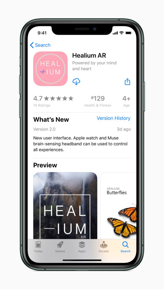 Healium AR was recently relaunched with new features after StoryUP CEO Sarah Hill attended Apple Entrepreneur Camp.