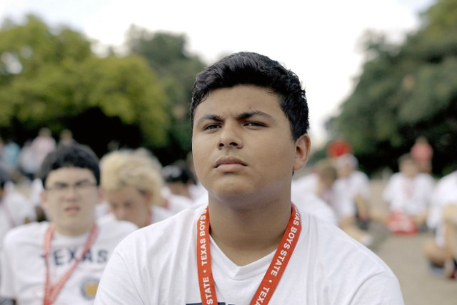 "Steven Garza in ""Boys State,"" an official selection of the documentary competition at the 2020 Sundance Film Festival. (Thorsten Thielow 