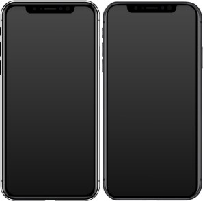 iPhone design cycle - iPhone X (left) and iPhone 11