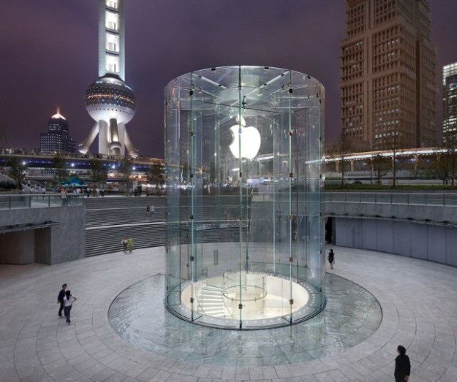 Apple reopens China retail stores. Image: Apple Pudong (浦东)