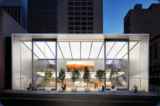 Apple Store Repair pickups. Image: Apple Union Square
