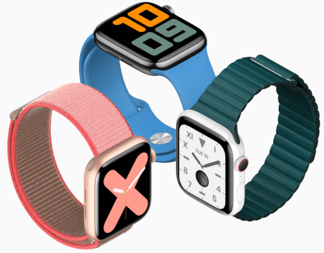 Google's Fitbit acquisition. Image: Apple Watch Series 5
