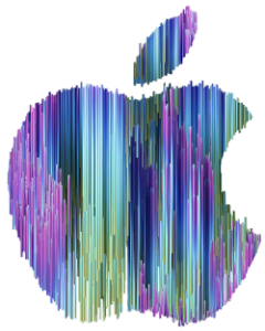 One World: Together At Home. Image: Apple logo