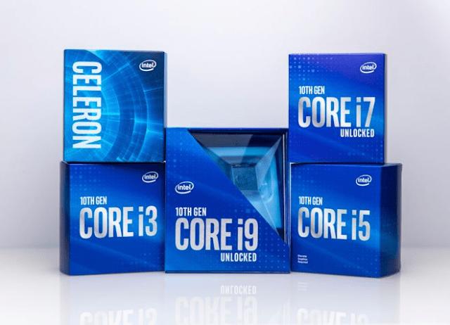 Intel Unveils 10th-Generation 'Comet Lake' Processors