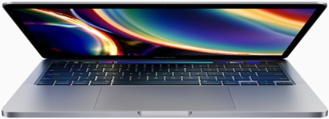 Apple's current 13-inch MacBook Pro with the Magic Keyboard