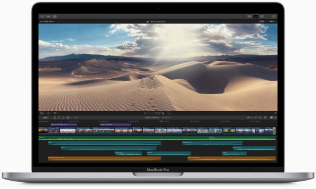 With standard storage starting at 256GB all the way up to 1TB, 13-inch MacBook Pro users can store even more photos, videos, and files.
